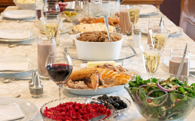 image for Thanksgiving Foods – What's Okay to Share With Pets?